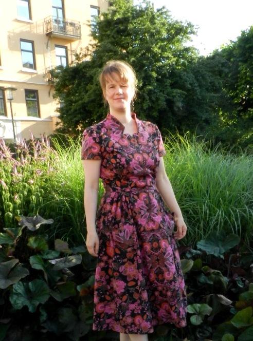 Retro summer dress: Butterick 5920