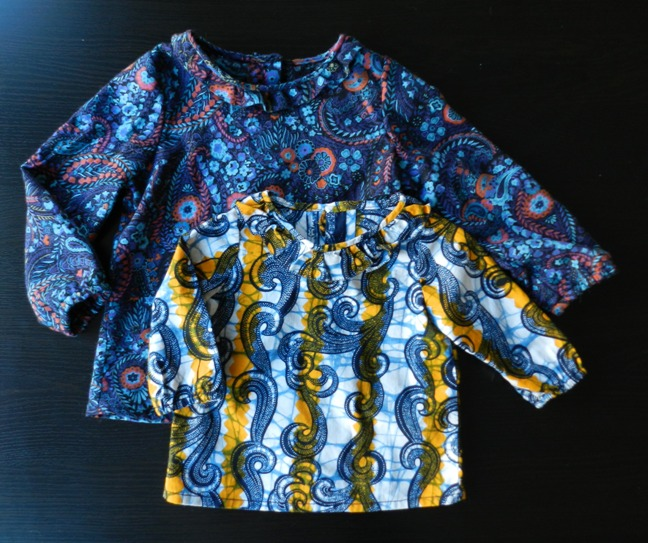 Burdastyle baby/toddler ruffle blouse