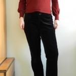 Return of the black velvet pants